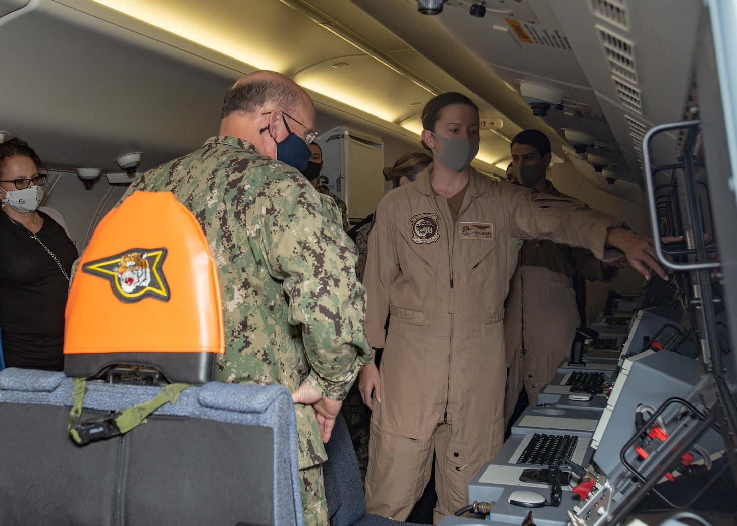Chief of Naval Operations Adm. Mike Gilday visits Patrol Squadron (VP) 8.