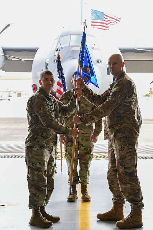 720th AMXS Change of Command Ceremony