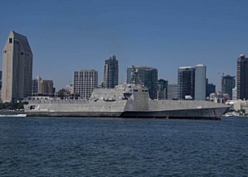 Ship in San Diego