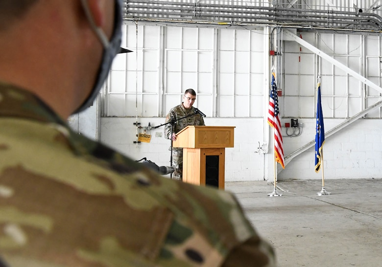 920th Maintenance Squadron Assumption of Command Ceremony