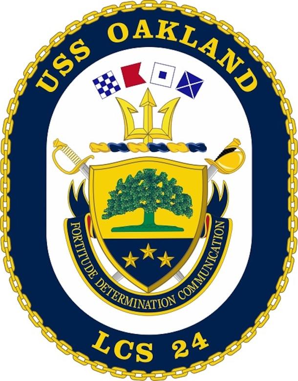 USS Oakland LCS 24 Logo