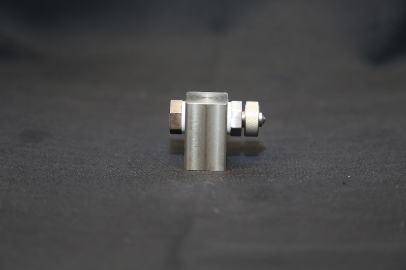 A metal micro-atomizer is shown