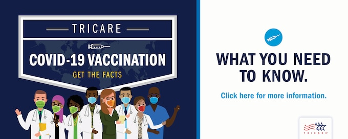 TRICARE COVID-19 Vaccination - Get the Facts. What You Need to Know.