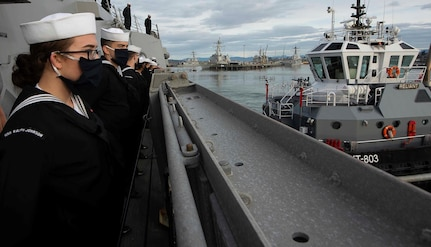 USS Ralph Johnson returns from maiden deployment