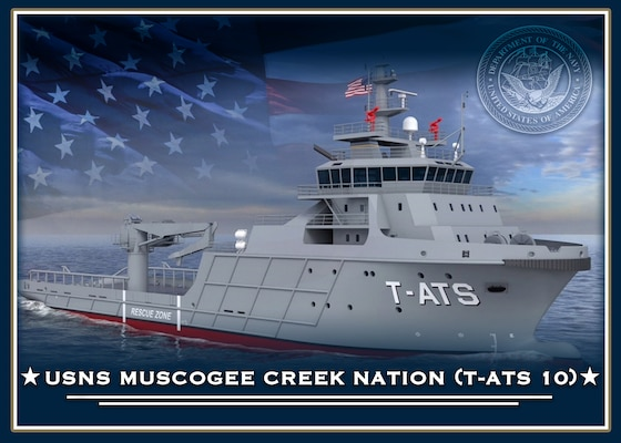 USNS Muscogee Creek Nation (T-ATS 10).