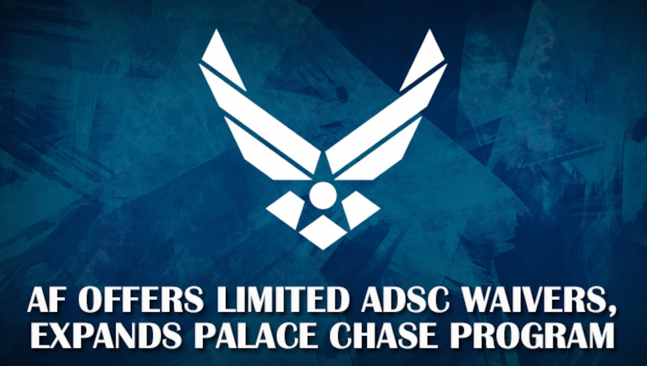 Air Force logo headline announcing FY21 Force Management updates