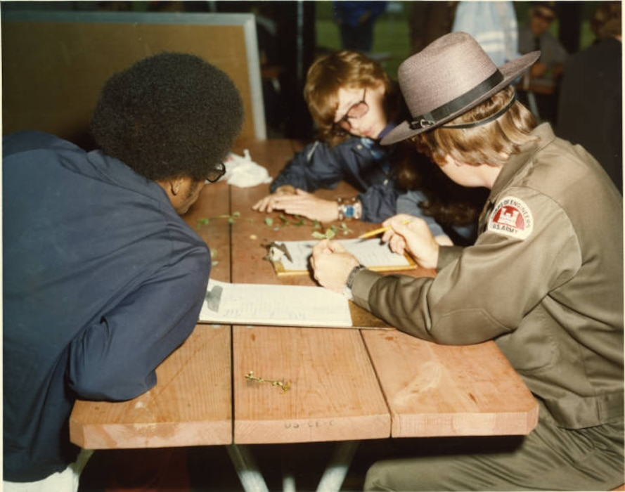 More than 35 years before pioneering the middle school STEM program called STEM EDA between USACE and the Department of Defense Education Activity (DoDEA), Pittsburgh District Park Rangers paved the way, introducing engineering concepts to students by teaching Ecology lessons at Woodcock Creek Lake in Meadville, Pa., using hands-on projects to help connect them to real-world careers in STEM.