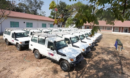U.S. Provides more than USD$1 Million in Vehicles, Equipment to the Lao National Unexploded Ordnance Program