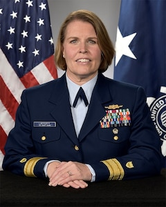Photo of Rear Admiral Miriam L. Lafferty