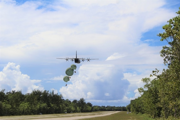 Task Force Oceania Supports Operation Christmas Drop 2020 in the Republic of Palau