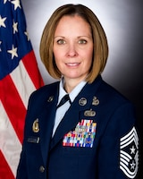 The Department of the Air Force announced Jan. 21, 2021, that Chief Master Sgt. Karen Beirne-Flint, the 16th Command Chief Master Sergeant of the Office of Special Investigations, is retiring after a distinguished 28-year military career. (OSI photo)