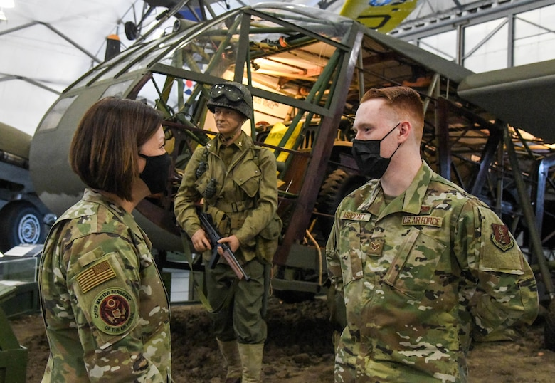 CMSAF takes part in Dover mission brief