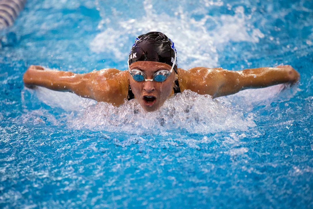 Air Force Academy Women's Swimming Quad Meet 2021