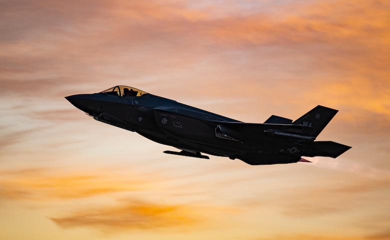Nellis AFB take-offs