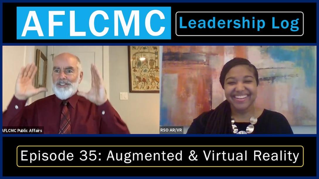 AFLCMC Leadership Log on Virtual Reality and Augmented Reality