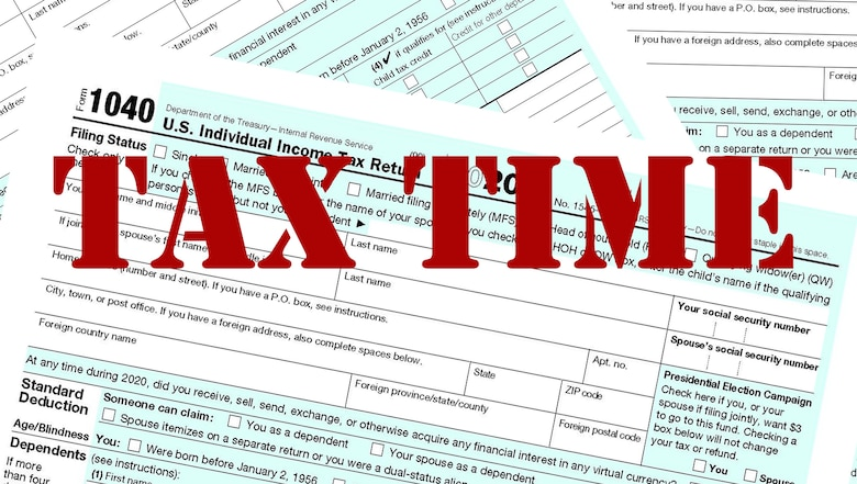 graphic of IRS Form 1040