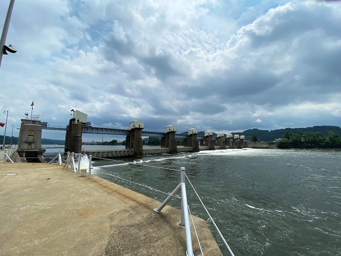 Part of the Upper Ohio Navigation Project involves recapitalizing Emsworth Locks and Dam.