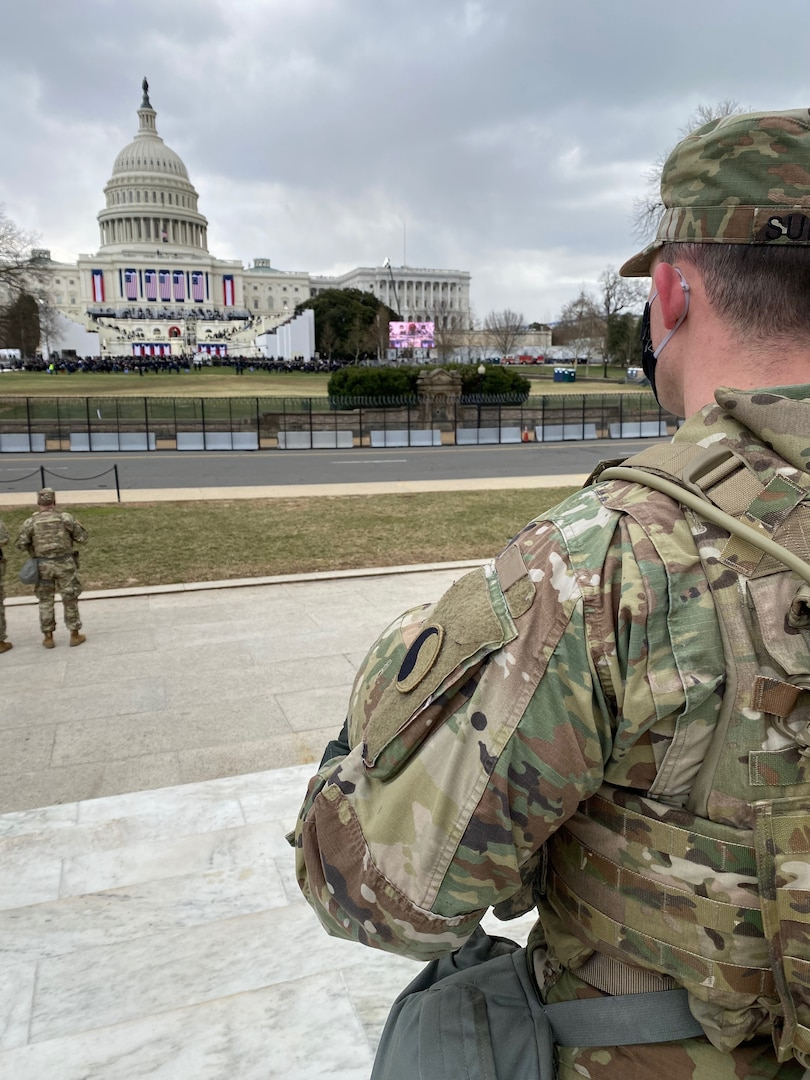 Virginia National Guard supports 59th Presidential Inauguration