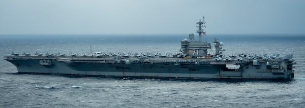 Theodore Roosevelt Carrier Strike Group Enters South China Sea