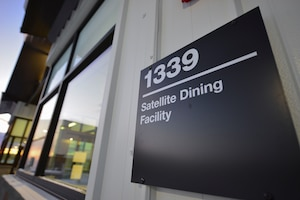 The satellite dining facility held a grand re-opening on Eielson Air Force Base, Alaska, Jan 21, 2021.