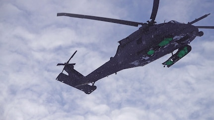 176th Wing Airmen participate in Noble Defender rescue exercise