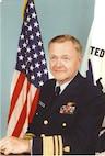 A portrait photograph of Vice Admiral Howard B. Thorsen, USCG