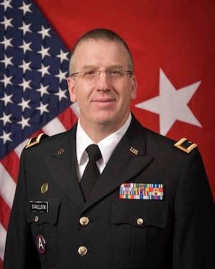 Official Photo of Brig. Gen. David Samuelsen