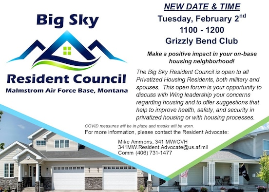 Resident Council meeting Feb. 2, 2021.