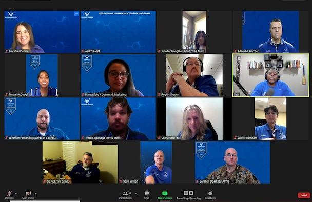 The Air Force Wounded Warrior (AFW2) Program hosted its first ever Virtual Open House. During this two-day event, attendees learned about all of the programs within AFW2 that are available for Warriors, Caregivers and their families.