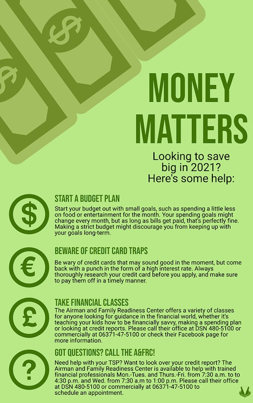 A graphic displaying ways to save money.