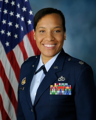: Lt. Col. Alexis Johnson, 86th Civil Engineer Squadron commander