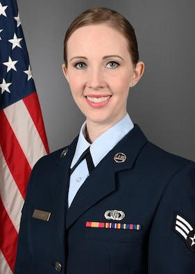 Official photo of SrA Rachael Colman, vocalist, Joint Base Langley-Eustis, Hampton, VA