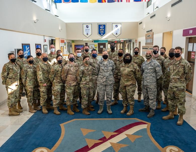 group photo of military members