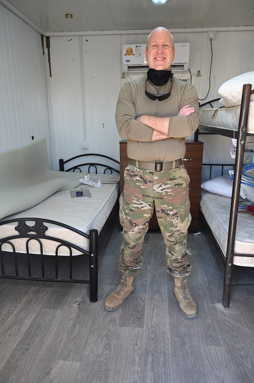 Deployed 1st Sgt.
