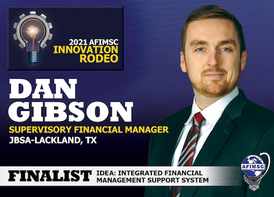 2021 AFIMSC Innovation Rodeo finalist graphic