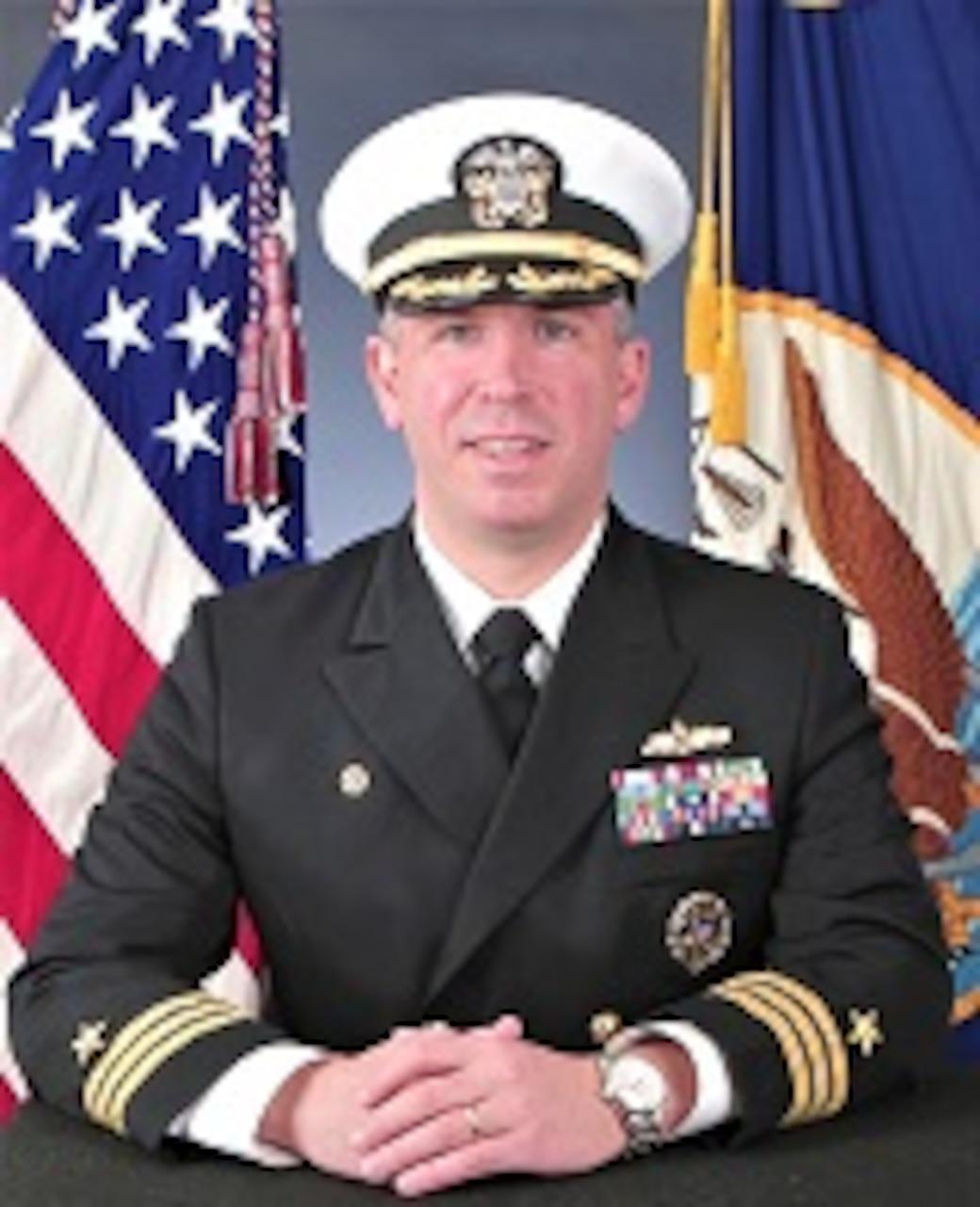 Commander Scott T. Wilbur