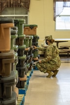 California Army Reserve troops take on quarantine mission in Central Texas