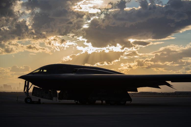 B-2 Spirits Arrive at Red Flag 21-1