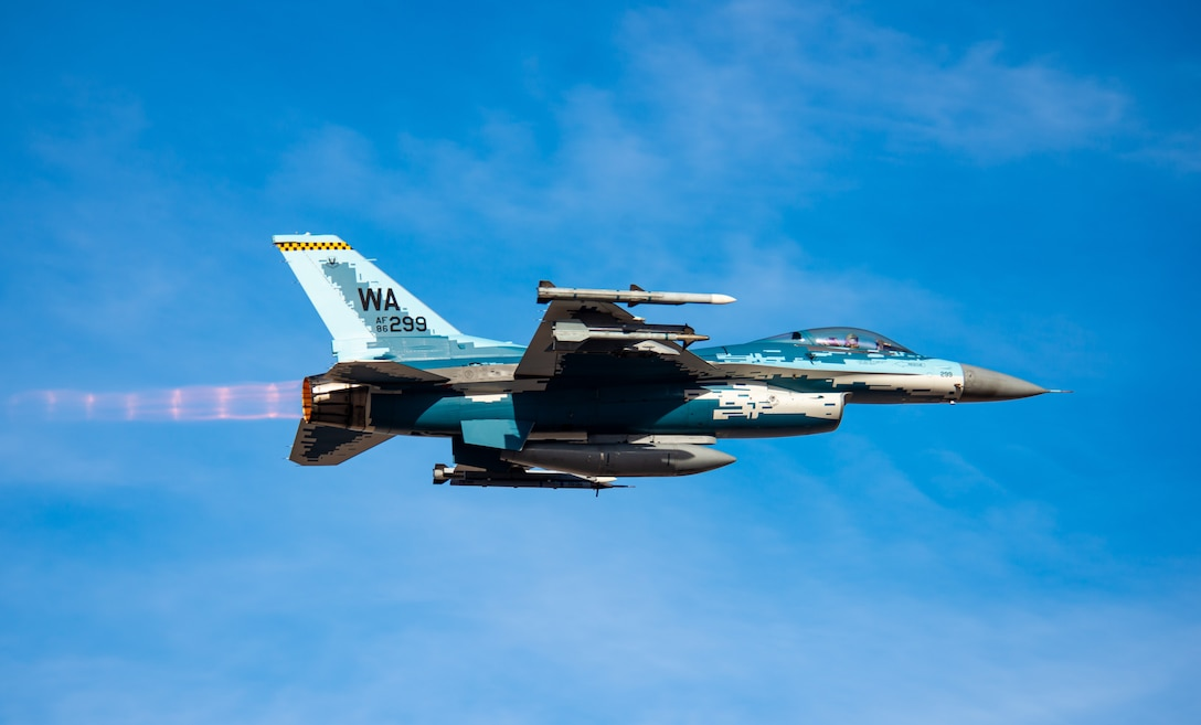 Coming and Going at Nellis AFB