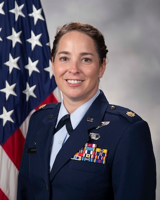 Maj. Kady Griffin, Official Photo