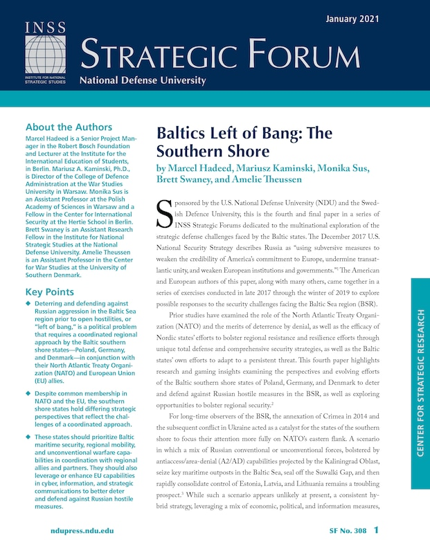 Baltics Left of Bang: The Southern Shore