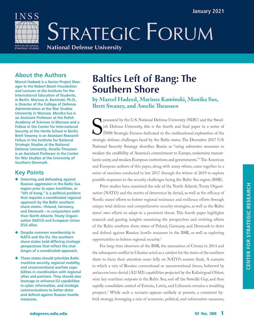 Baltics Left of Bang: The Southern Shore