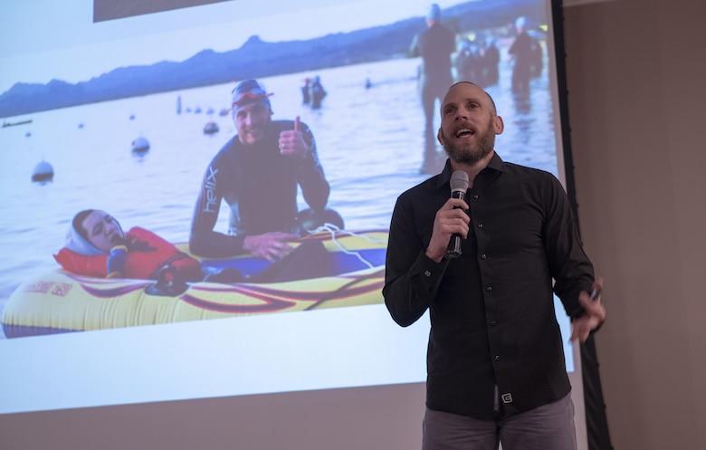 Photo of motivational speaker