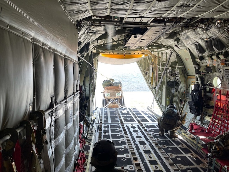 Search and Recovery Tactical Vehicle airdrop