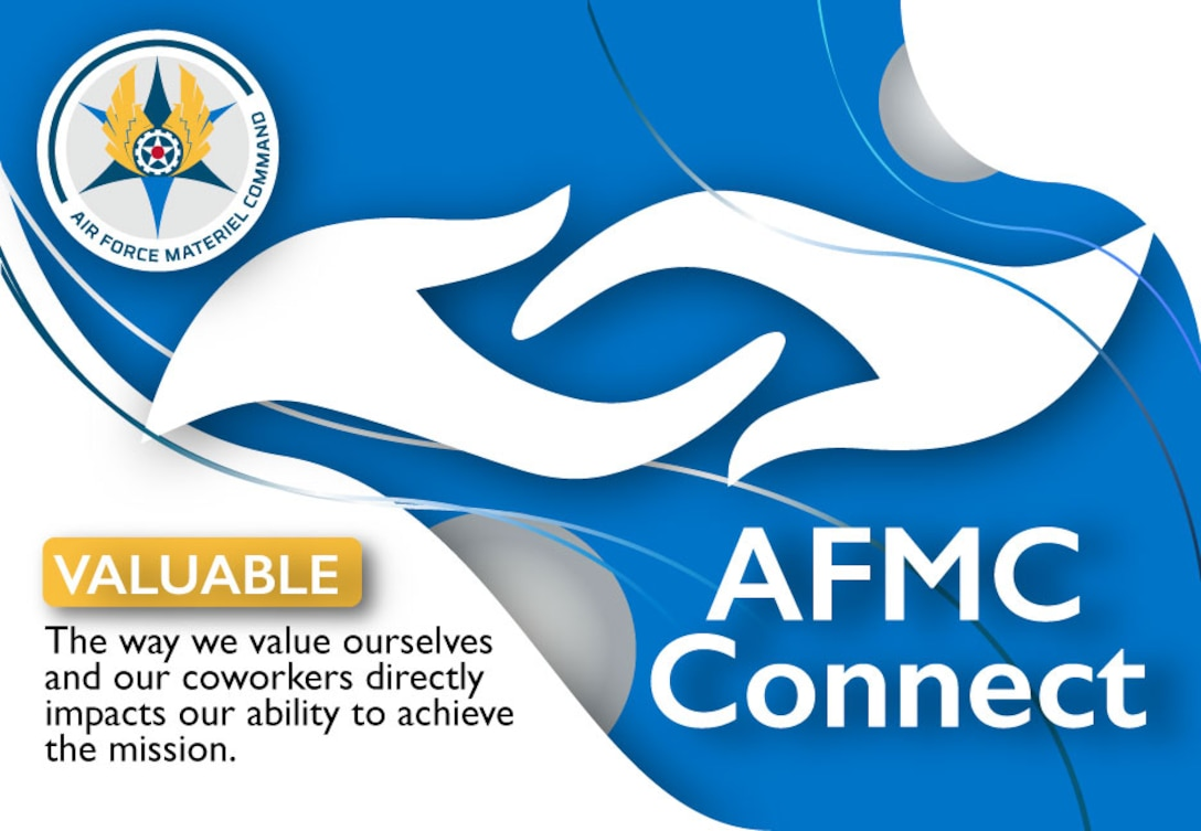 Graphic of AFMC Connect February focus: Valuable