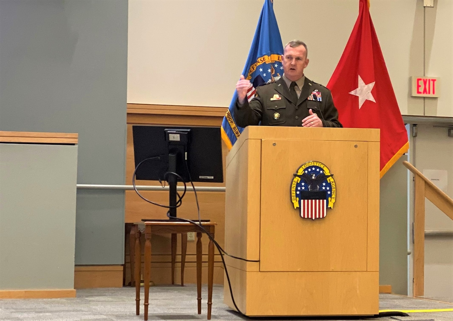 DLA Troop Support Commander Army Brig. Gen. Eric P. Shirley hosted his first town hall June 25, 2021 in Philadelphia, Pa. During the event Shirley discussed his priorities and vision for leadership, including mission accomplishment and everyday enterprise excellence.