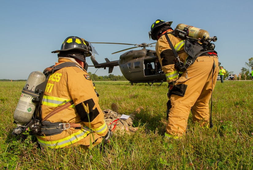 Crash exercise at Blue Grass Airport