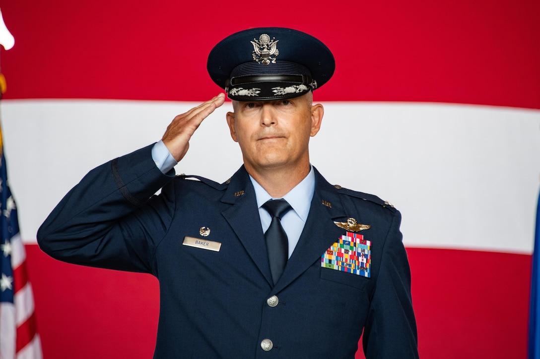 97th AMW change of command