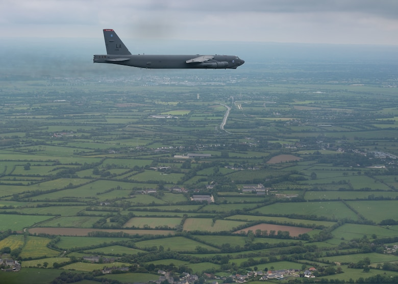 B-52H Stratofortress D-Day flyover