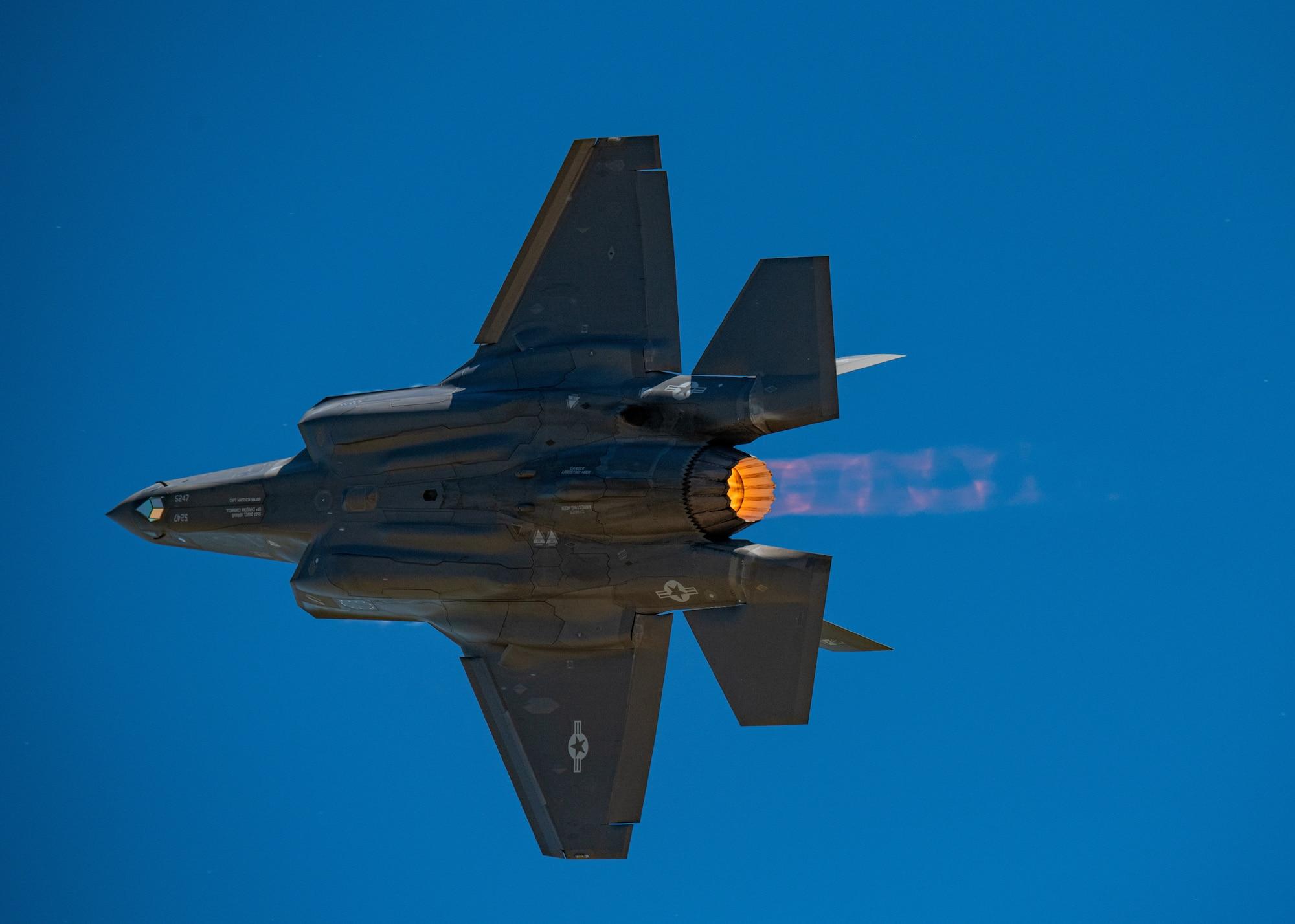 F-35A Lightning ll demonstration
